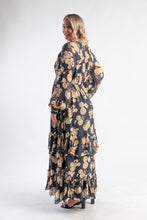 Load image into Gallery viewer, In The Mix Gown Talulah - Floral long sleeve maxi dress