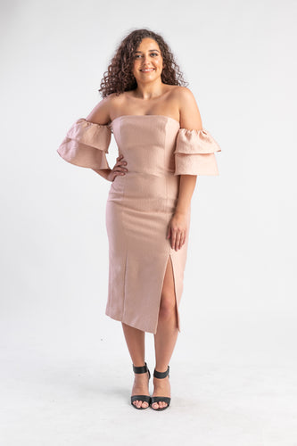 Keepsake Magnolia dress Peach