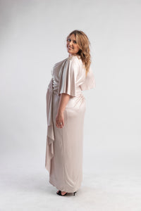 Melissa Champagne Dress Jenny Packham