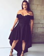 Load image into Gallery viewer, Rosie Black Gown