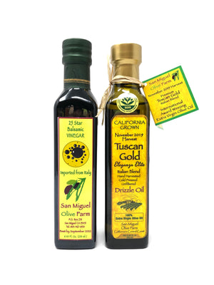 Load image into Gallery viewer, ANY AVAILABLE OIL OR VINEGAR DUET, One Olive Oil + One Vinegar (250ml)