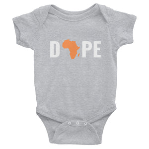 Dope Africa Infant Bodysuit