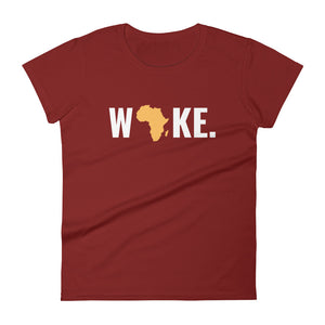 Woke Africa Women's Short Sleeve T-shirt