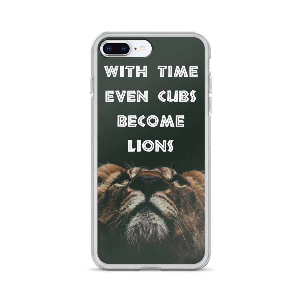 Cubs to Lions iPhone Case
