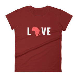 Love Africa Women's Short Sleeve T-shirt