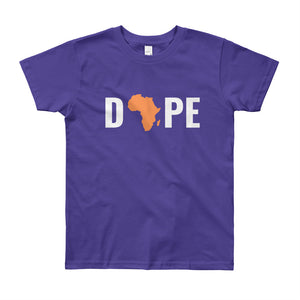 Dope Africa Youth Short Sleeve T-Shirt