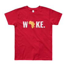 Load image into Gallery viewer, Woke Africa Youth Short Sleeve T-Shirt