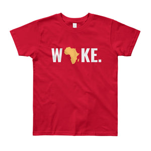 Woke Africa Youth Short Sleeve T-Shirt