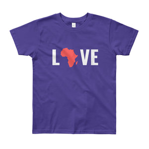 Love Africa Youth Short Sleeve T-Shirt