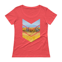 Load image into Gallery viewer, Lope Squad Ladies' Scoopneck T-Shirt