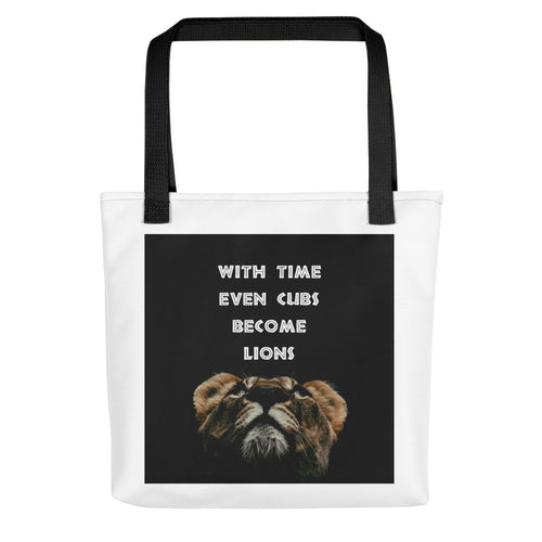 Cubs to Lions Tote bag
