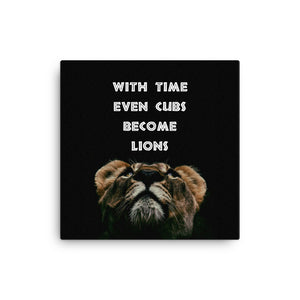 Cubs to Lions Canvas