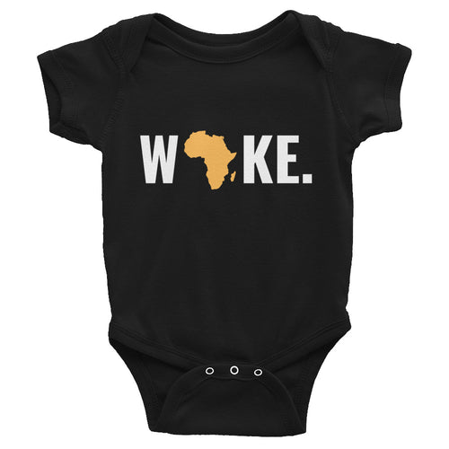 Woke Africa Infant Bodysuit