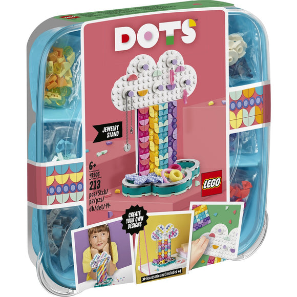 Lego, 41905, DOTS- Rainbow Jewellery Stand