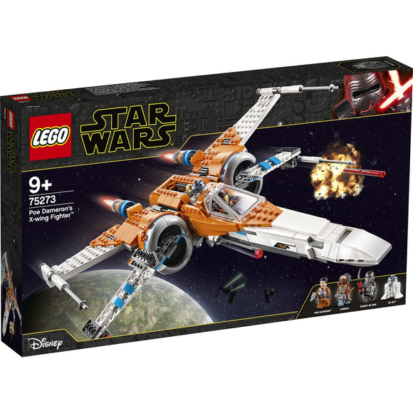 Lego Star Wars 75273 Poe Damerons X Wing Fighter