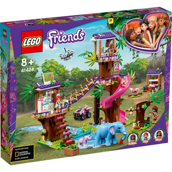 Lego Freinds 41424 Jungle Rescue Base