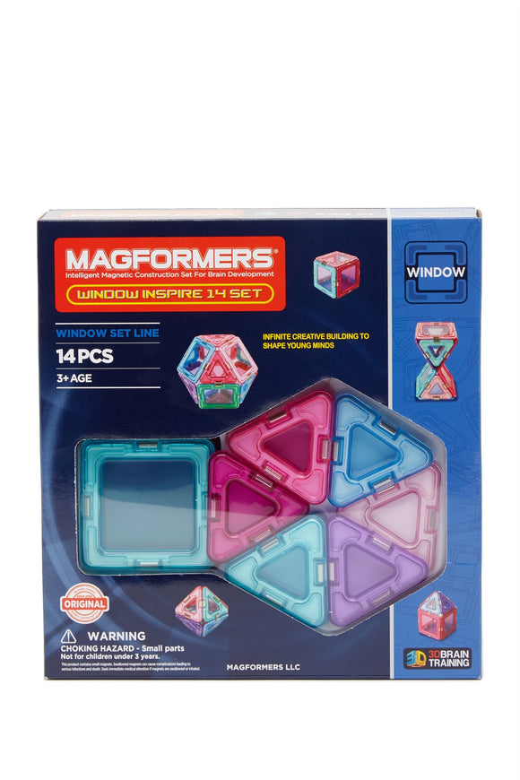 Magformers 714003 Windows Inspire Set 14