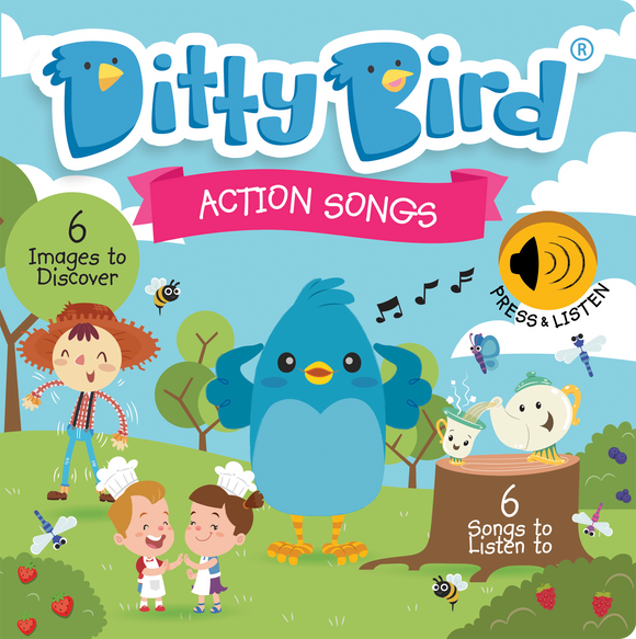 Ditty Bird Musical Book- Action Songs