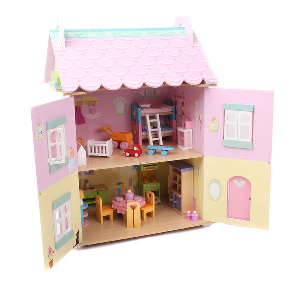 Le Toy Van Dolls House- Daisylane Sweetheart Cottage