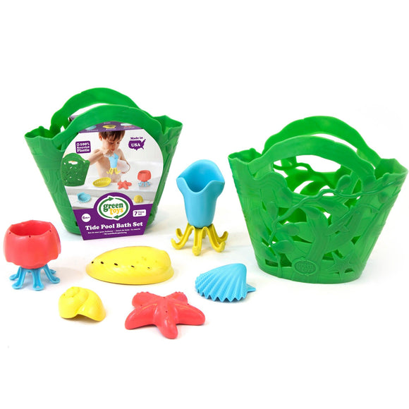 Green Toys, Tide Pool Bath Set-Green
