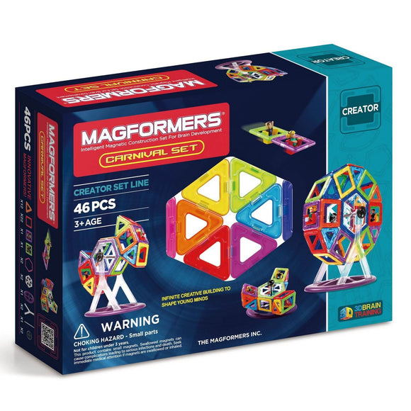 Magformers 46pc Carnival Set