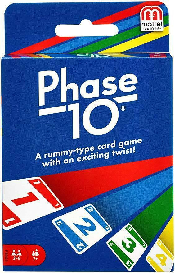 Phase 10 Card Game
