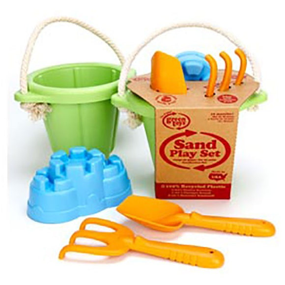 Green Toys Sand Play Set-Green
