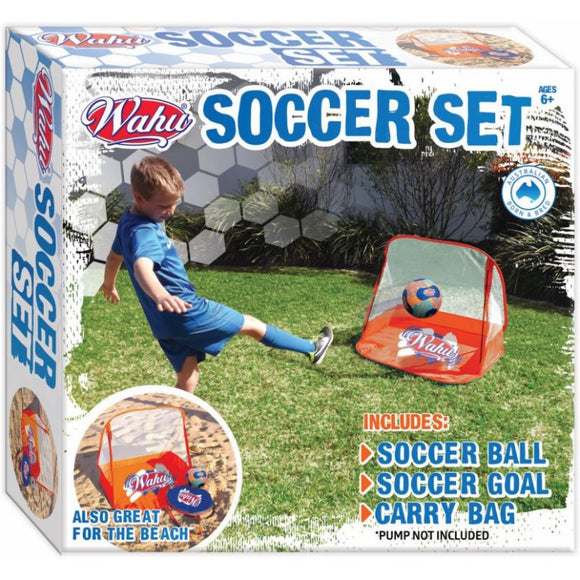 Wahu Collapsible Soccer Set
