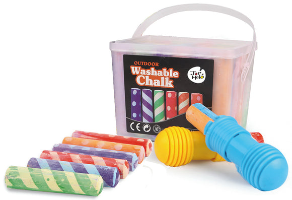 Outdoor Washable Chalk 24pc