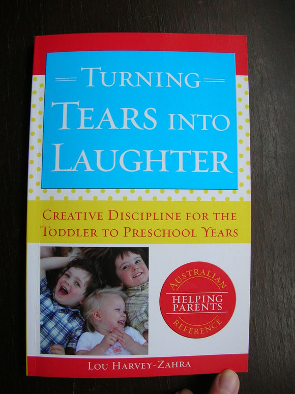 Turning Tears into Laughter  Lou Harvey-Zahra