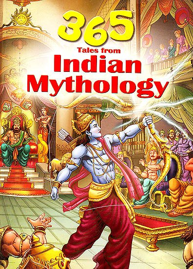 365 Tales From Indian Mythology  Om Books international