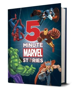 5 Minute Marvel Stories  Scholastic Australia Pty Ltd
