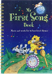 My First Song Book - Music & words for 26 best loved rhymes - Nicola Baxter