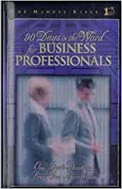 90 Days In The Word For Business Professionals   Broadman & Holman Publishers