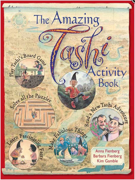 Amazing Tashi activity book