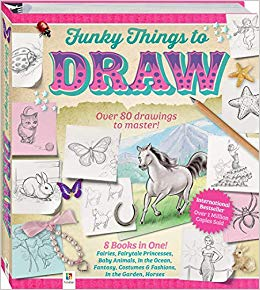 Funky Things To Draw  Hinkler Books Pty Ltd