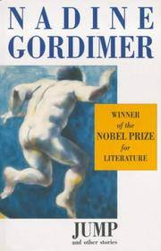 Jump And Other Stories  Nadine Gordimer