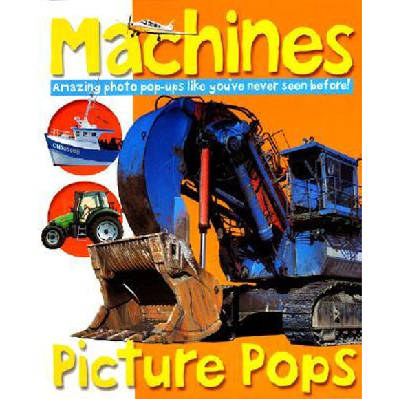 Machines  Picture Pops   Priddy O  Books