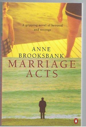 Marriage Acts  Anne Brooksbank