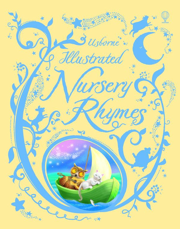 Usborne Illustrated Nursery Rhymes    Usborne Publishing