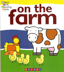 Baby's First Learning Book: On The Farm   Brimax Publishing
