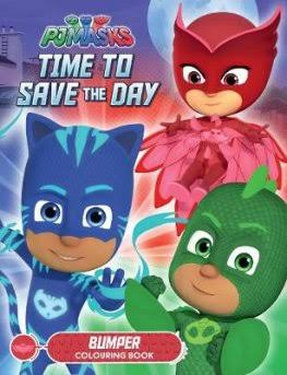 Pjmasks:Time To Save The Day  Lake Pres Ltd