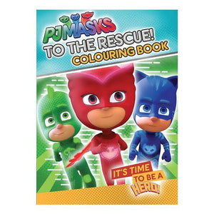 Pjmasks:All To The Rescue! Colouring Book  Lake Pres Ltd