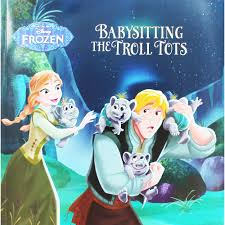 From The Movie Disney Frozen: Babysitting The troll Tots  Parragon Books