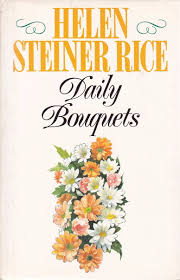 Daily Bouquets    Helen Steiner Rice
