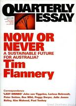 Now or Never Tim Flannery