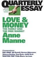 Love and Money  Anne Manne