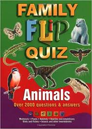 Family Flip Quiz  Animals Over 2000 Questions & Answers