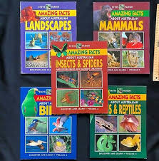 Amazing Facts about Australian Frogs & Reptiles Volume 4 Steve Parish