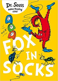 Fox in Socks  Dr. Seuss